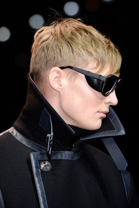 Salvatore Ferragamo Menswear Fall/Winter 2013 Look 22 Detail #otticodimassa #ottico #eyewear #sunglasses