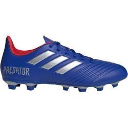 Photo of Adidas Herren Fußballschuhe Predator 19.4 FxG, Größe 45 ? in Blau/Silber/Rot, Größe 45 ? in Blau/Sil