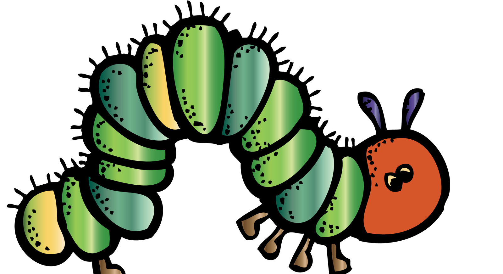 caterpillar melonheadz colored cute clipart for my class rh pinterest co uk very hungry caterpillar digital clipart very hungry caterpillar digital clipart