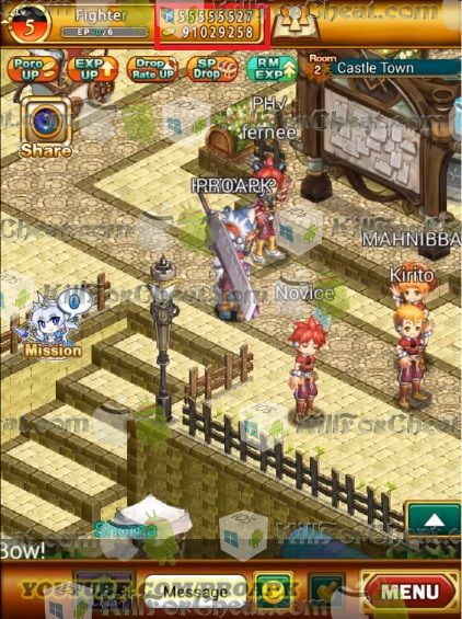 The new Logres Japanese RPG Hack it's available for download