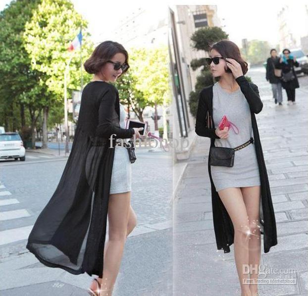 2017 Cheap!new Style Women'S Jackets Long Chiffon Sunscreen ...