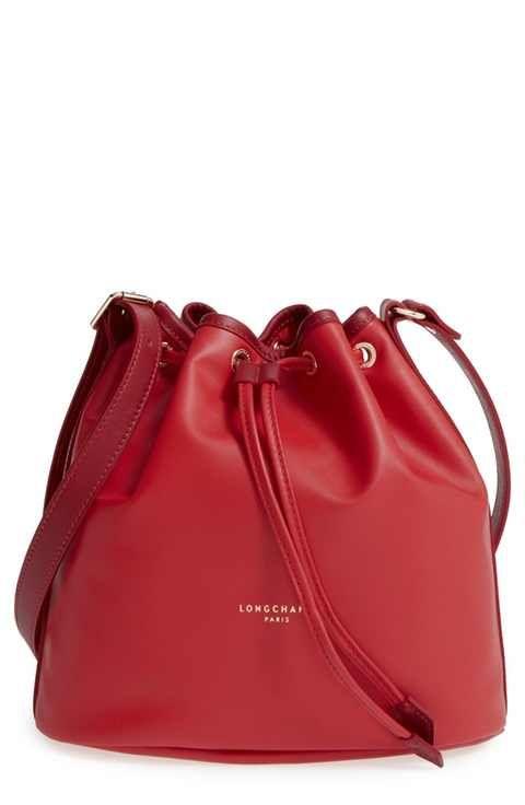 d3af039fa58 Longchamp  Small 2.0  Leather Bucket Bag   KABELKY   HANDBAGS   BAGS ...