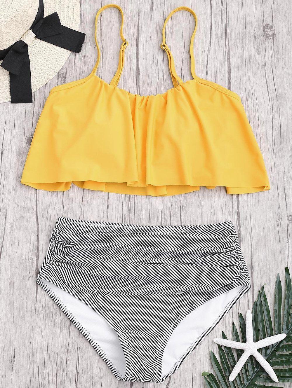 431b2b248a899 Plus Size Yellow Swim Top | Kuenzi Turf & Nursery