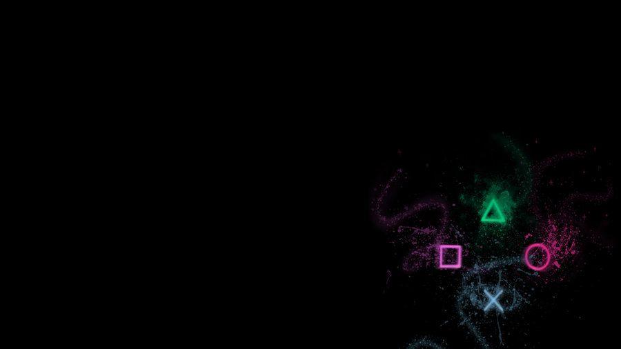 Playstation By Mkingle Deviantart Com On Deviantart Ps4 Background Digital Wallpaper Playstation