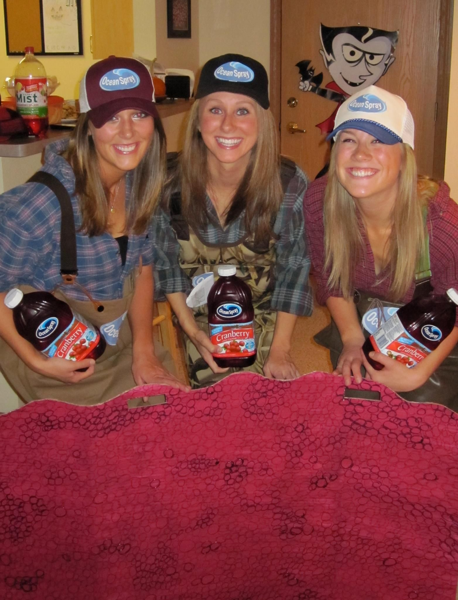 Ocean Spray Commercial Guys group costumes! Style DIY costumes with this super fun, easy tool ...