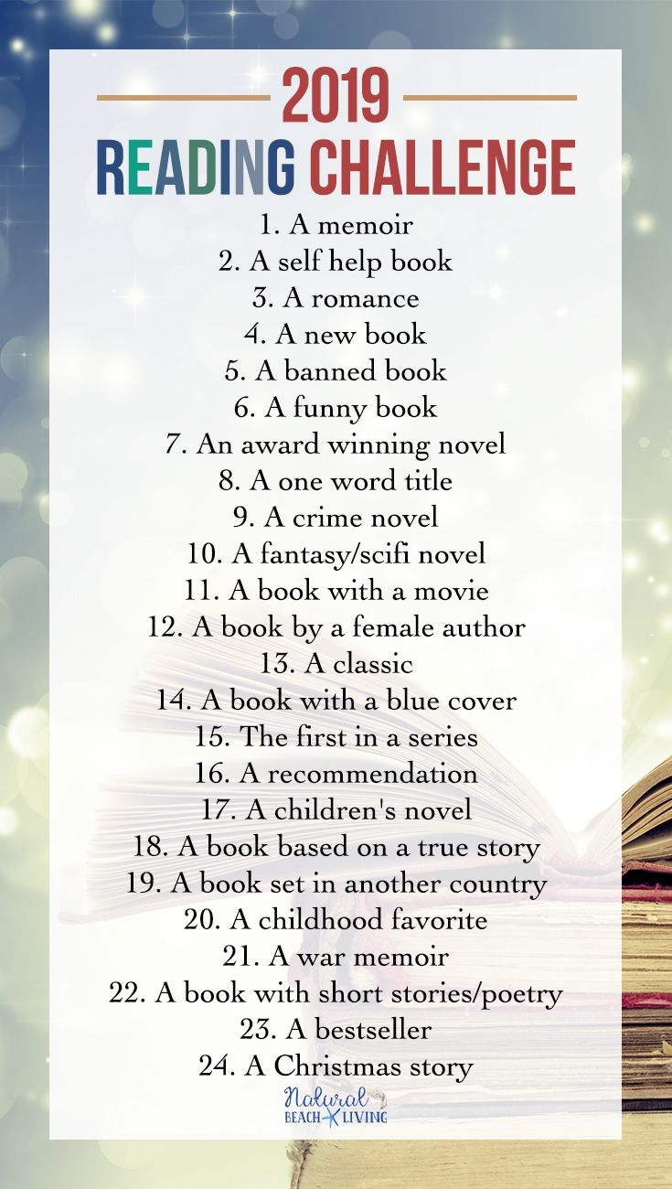 Reading Challenge Ideas - Reading Challenge for Kids and Adults