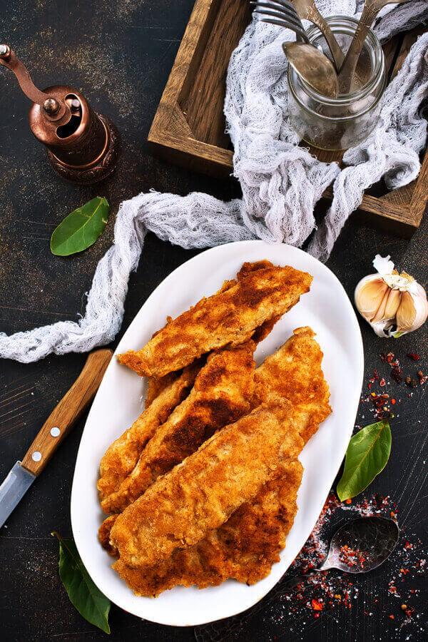 Louisiana Bayou Fish Fry Cdkitchen Com Louisiana Fish Fry Fried Fish Recipes Fried Fish