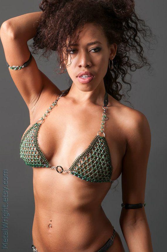Chain maille bikini