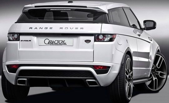 Autoblog Caractere Range Rover Evoque Range Rover Evoque