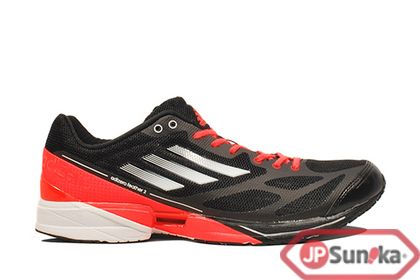 hot sale online d4538 ad5b4 adidas adiZero Feather 2 M Black Sport Red (G61900)