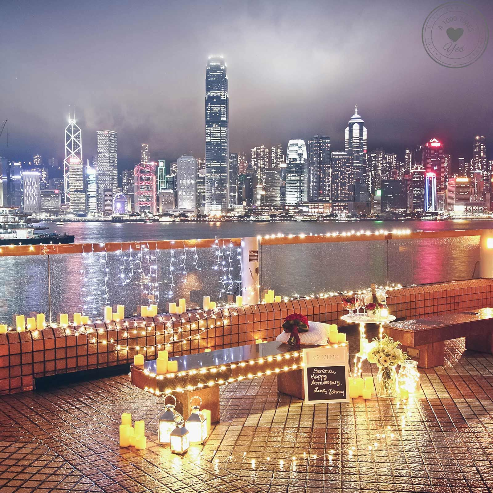Romantic Proposal ideas in Hong Kong http://www.a1000timesyes.com ...