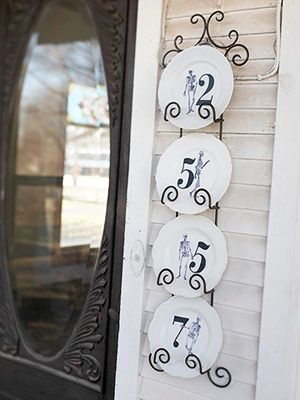 scary house numbers