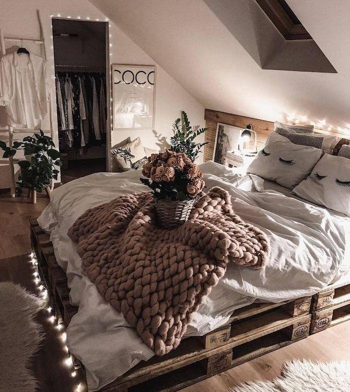 ▷ 1001 + idées géniales pour aménager une chambre cosy sans se ruiner
