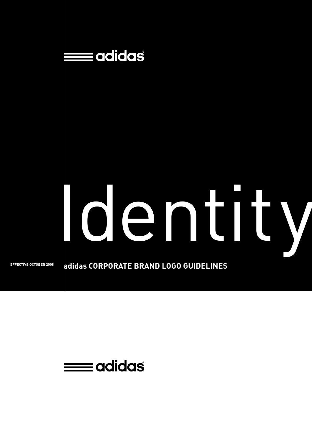 adidas identity styleguides pinterest brand guidelines brand rh pinterest com Color Brand Identity Guide Fashion Brand Identity Guide