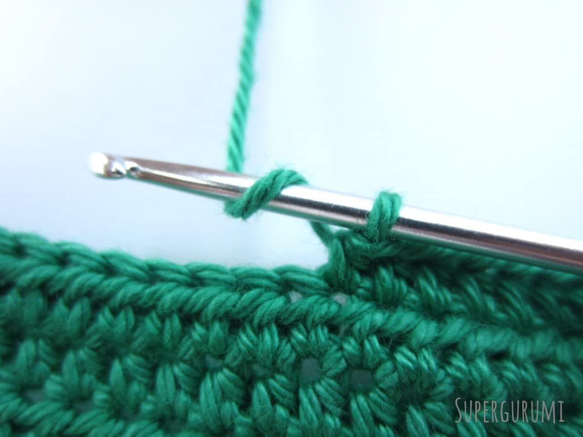 In Dieser Lektion Lernen Sie Wie Sie Halbe Stäbchen Häkeln Wie