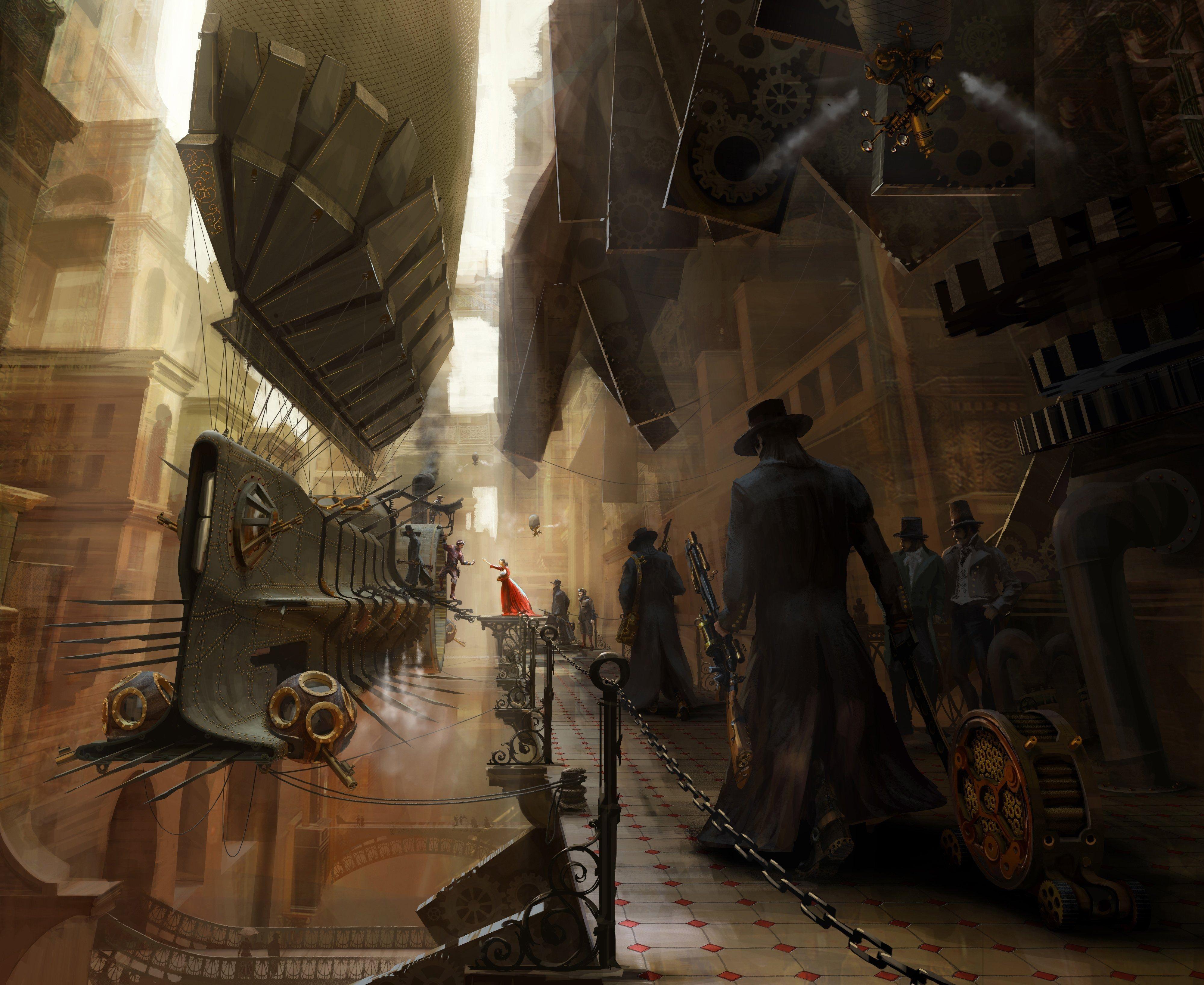 Resultado De Imagem Para Steampunk City Concept Art Steampunk Wallpaper Steampunk City Steampunk Ship