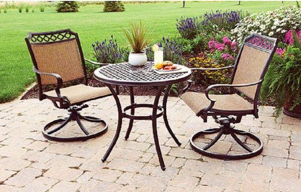 Charmant Outdoor Bistro Tisch Und Stühle IKEA