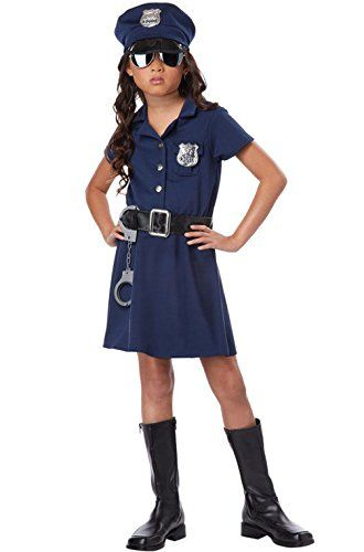 Mememall Fashion Police Officer Girl Patrol Cop Dress Child Costume * Click image for more details  sc 1 st  Pinterest & Mememall Fashion Police Officer Girl Patrol Cop Dress Child Costume ...
