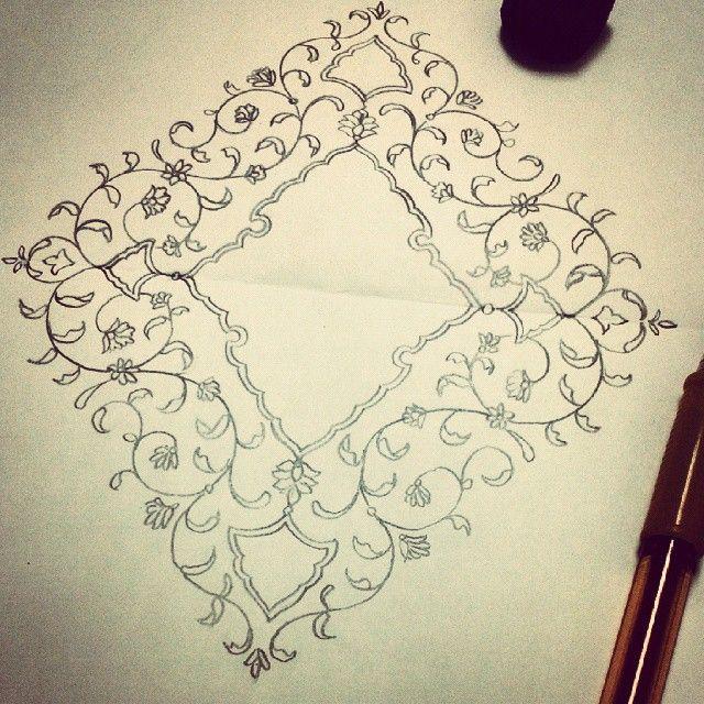 design #arts #doodle #floral   création   Pinterest   Deberes y ...