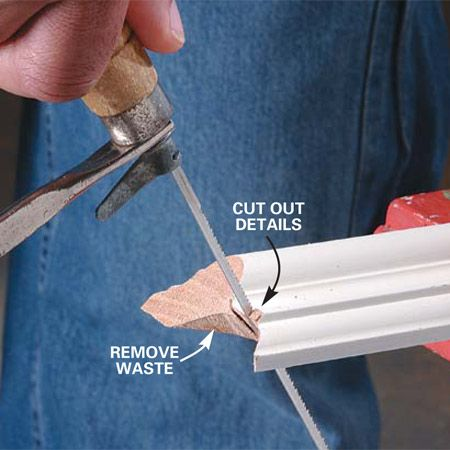 How to Cope Joints - Step by Step | The Family Handyman