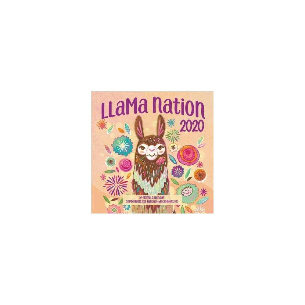 Printable December 2020 Calendar Memo Llama Nation 2020 Calendar : Includes September 2019 Through