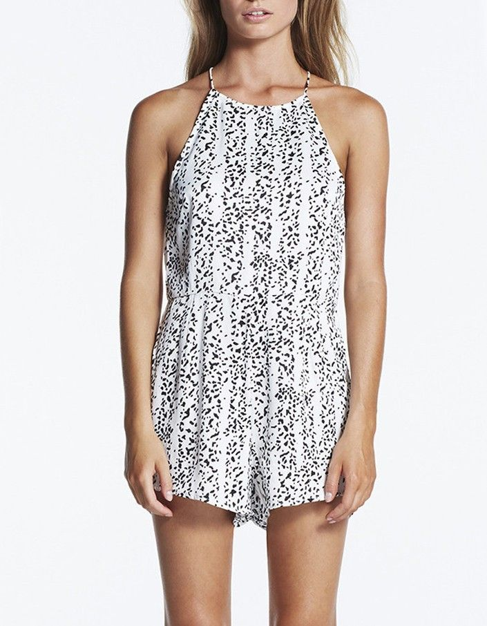 9fde1bcac88 Zulu and Zephyr Coconut Playsuit ~ Superette Store