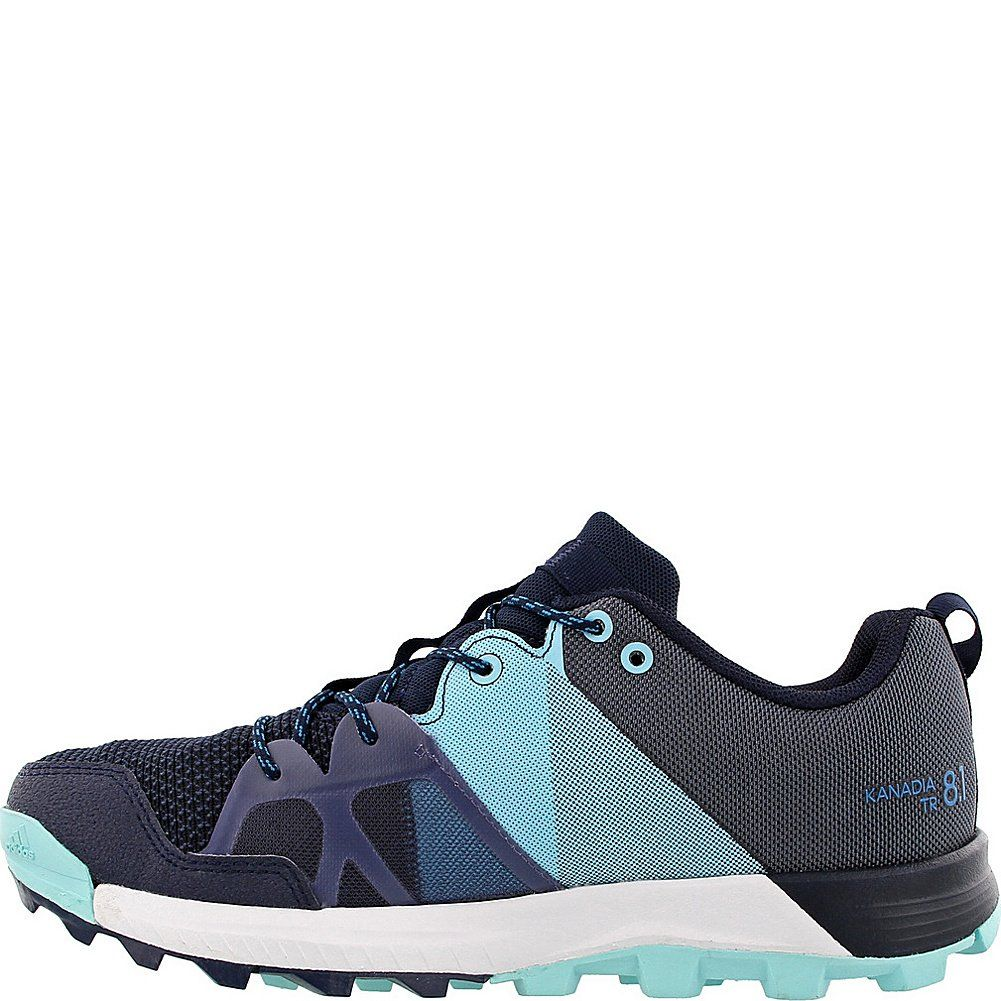 42607899d7a2da adidas outdoor Womens Kanadia 8.1 W Trail Running Shoe Raw Steel Off  White Real