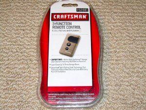 Craftsman 53681 3 Function Remote Control By Craftsman 54 99