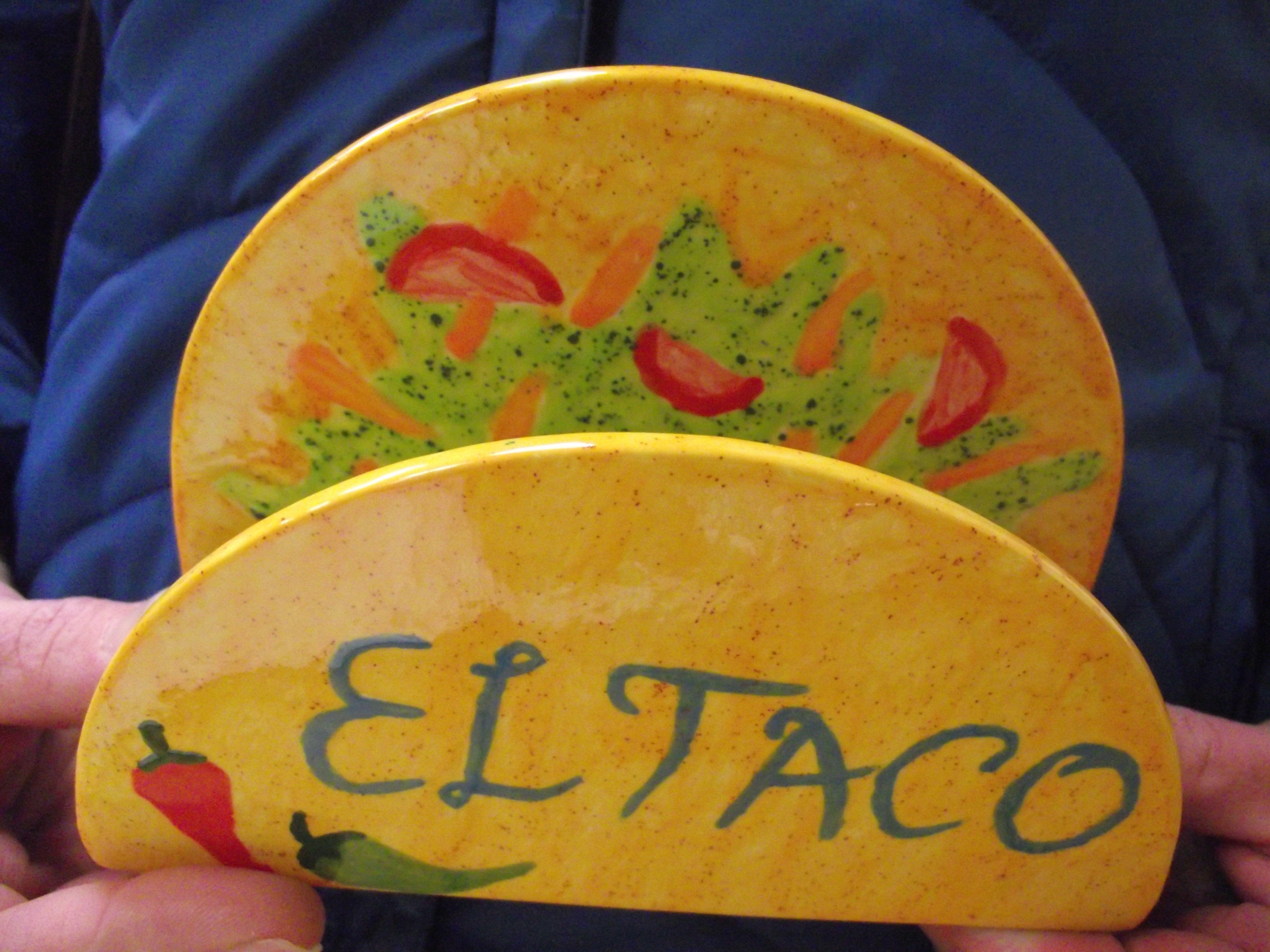 Napkin holder or Taco holder? You decide. & Napkin holder or Taco holder? You decide. | Fiesta Mexicana ...
