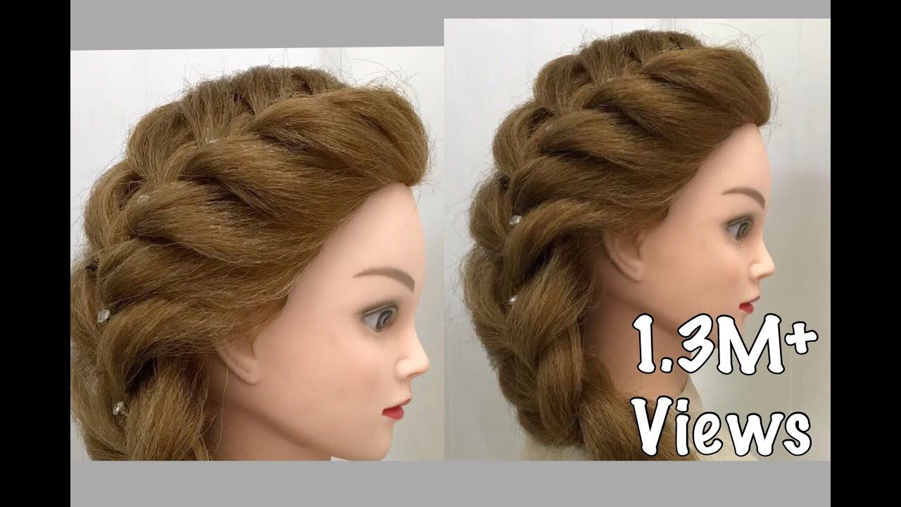 Side French Braid Easy Hairstyles Youtube Haircuts For Long Hair Hair Styles French Haircut