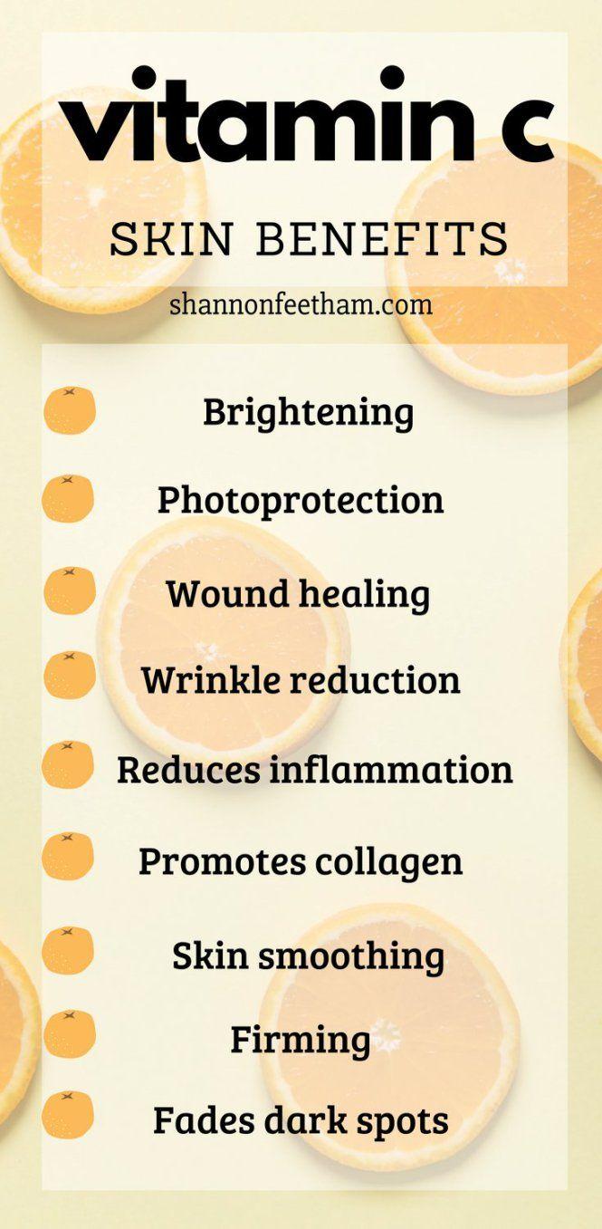 Vitamin C Skin Care Benefits: Brighter, Firmer Skin - Shannon Feetham #skin