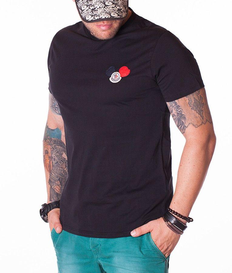 Moncler Shirts negro