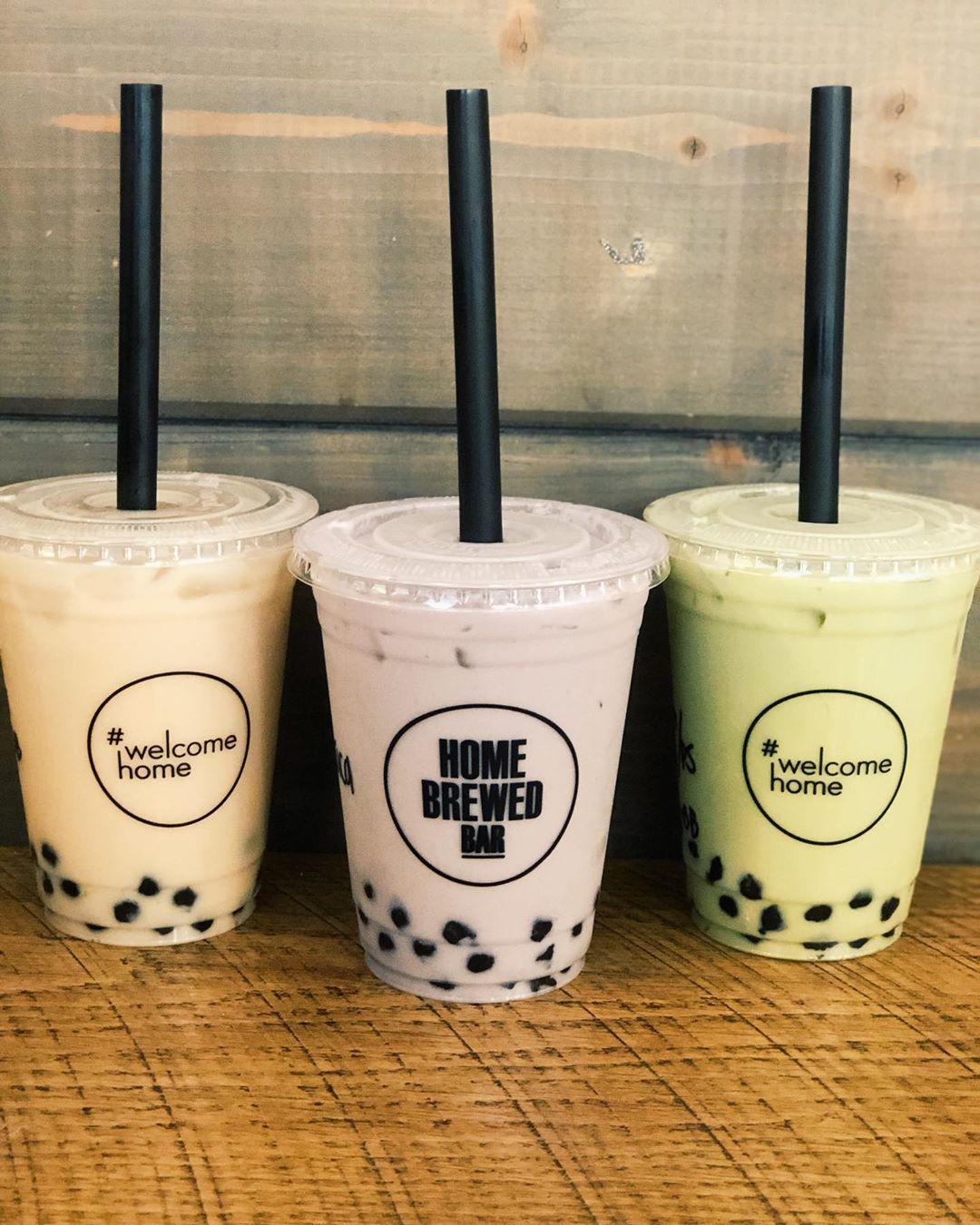 3 classic milk teas brew bar bubble tea boba tea