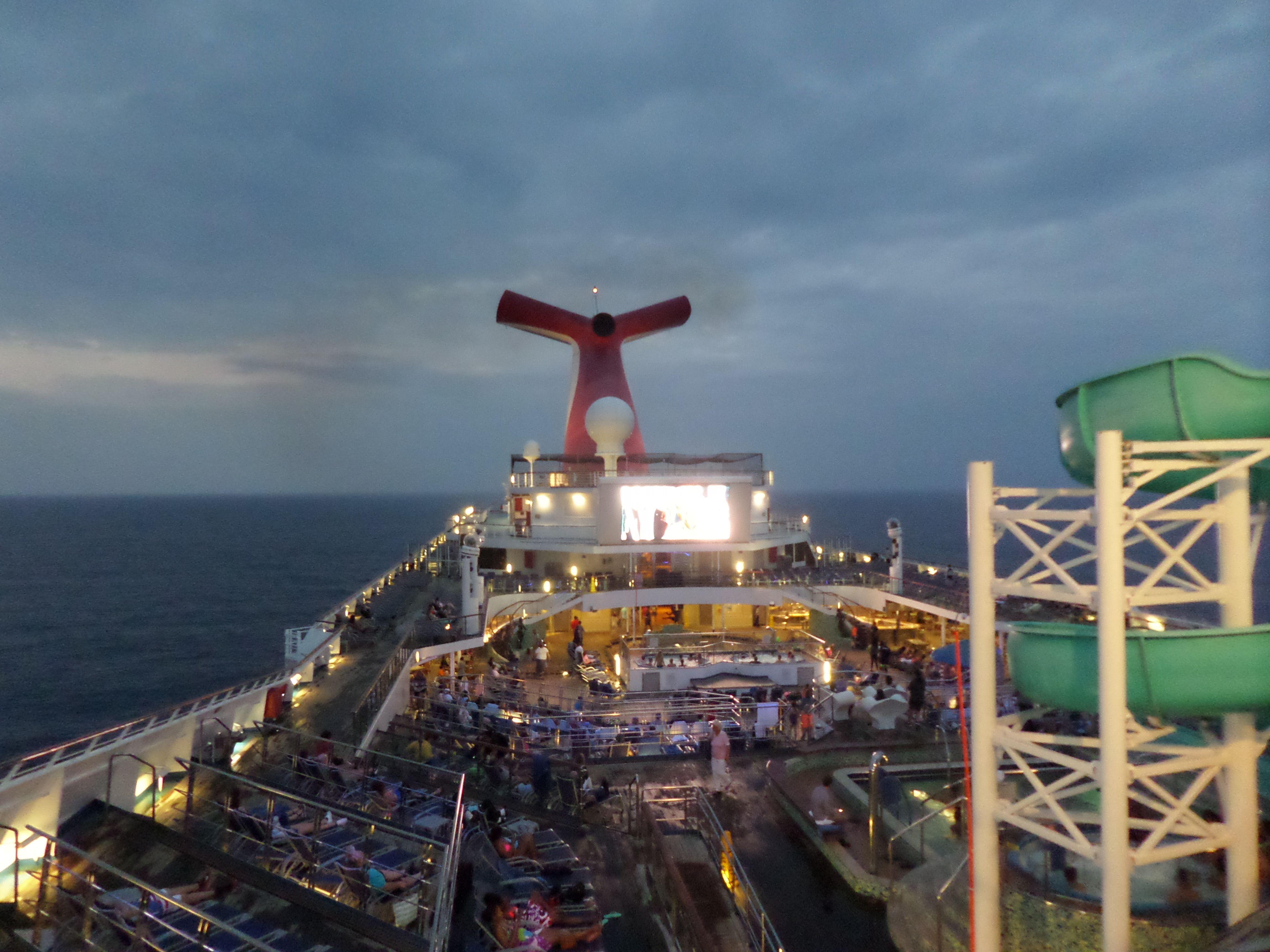 Carnival Valor. I love this ship.