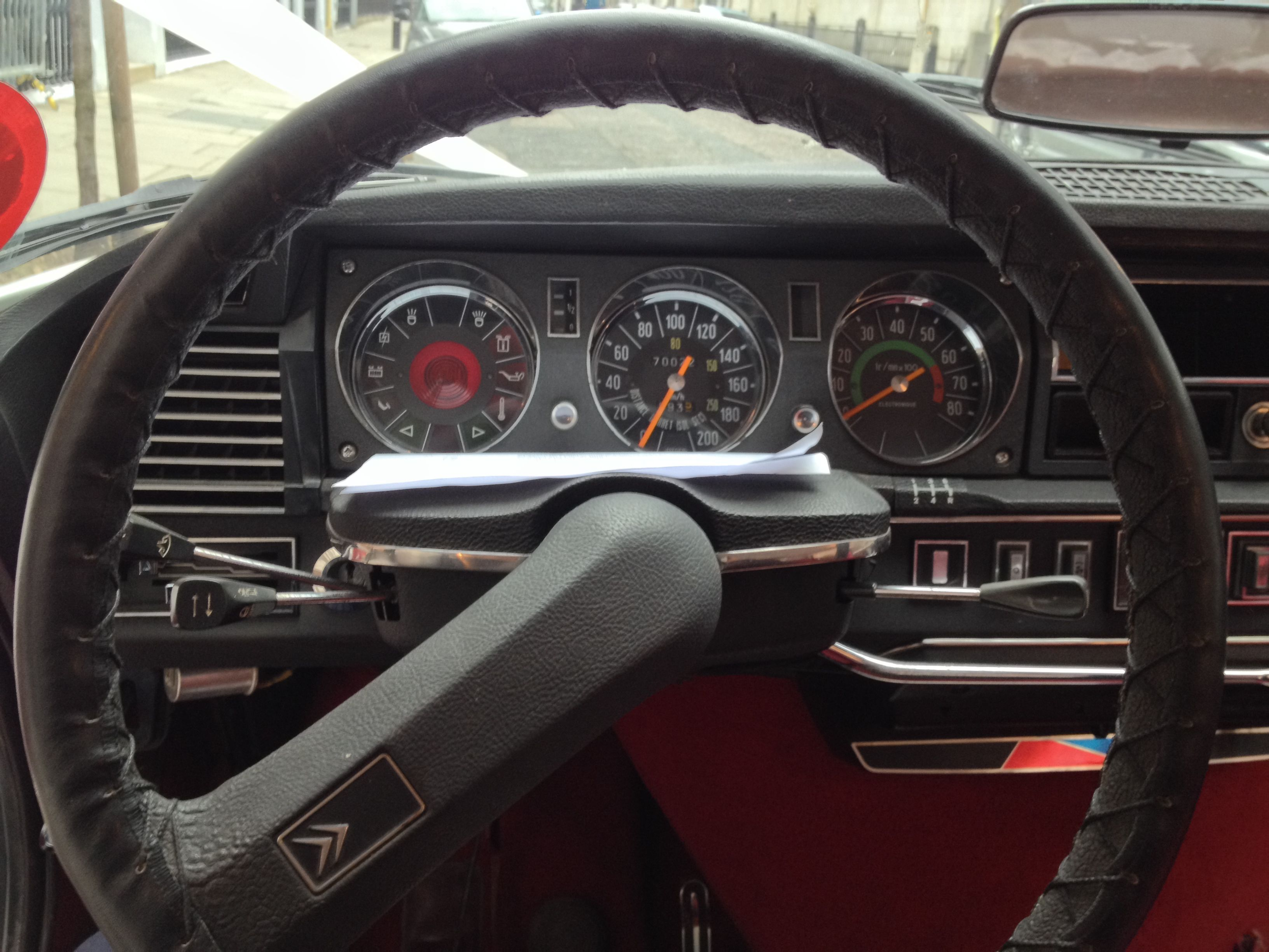 Look at that original interior.  if I could bottle the smell from inside this 1968 DS I would be a millionaire!