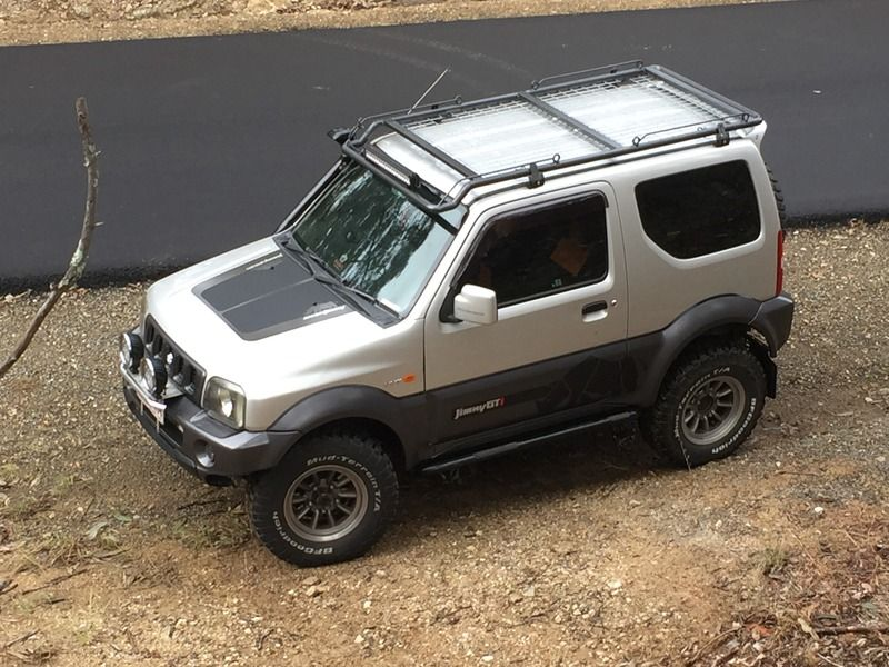 Auszookers Com View Topic Zukenutter S Full Length Jimmy Roof Rack Suzuki Jimny Roof Rack Suzuki