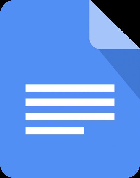 Google Docs Logo Download Vector