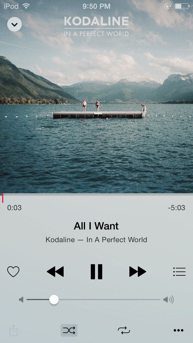 All I Want Kodaline Music Bands Perfect World Girl Bands