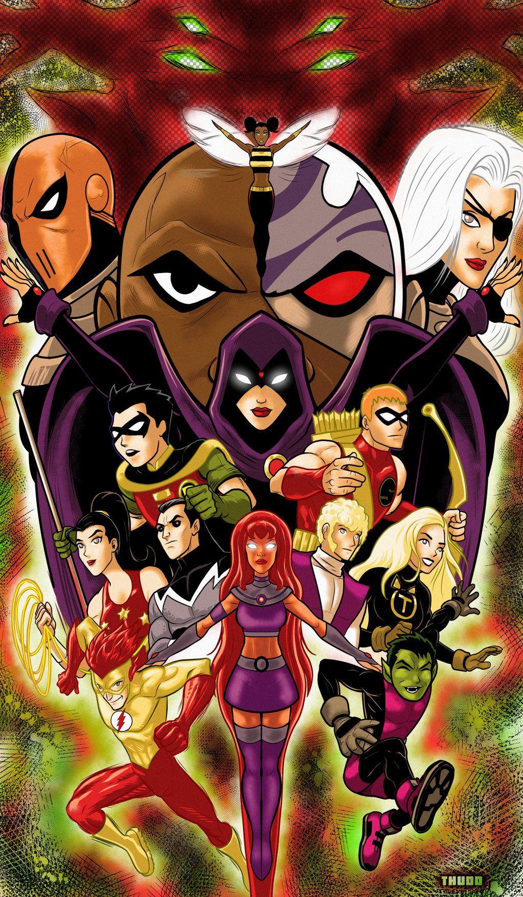 Teen Titans - Terry Huddleston  Teen Titans  Teen Titans -4446