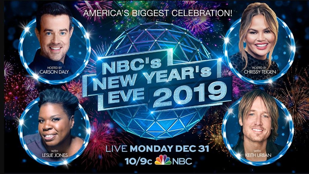 NBC New Year's Eve Special (2019) Tv show genres, Nbc