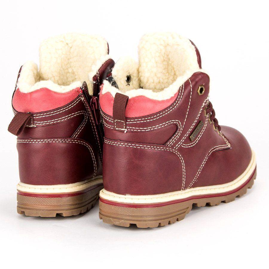 Polbuty I Trzewiki Dzieciece Dla Dzieci Arrigobello Arrigo Bello Czerwone Ocieplane Traperki Na Suwak Boots Ugg Boots Shoes