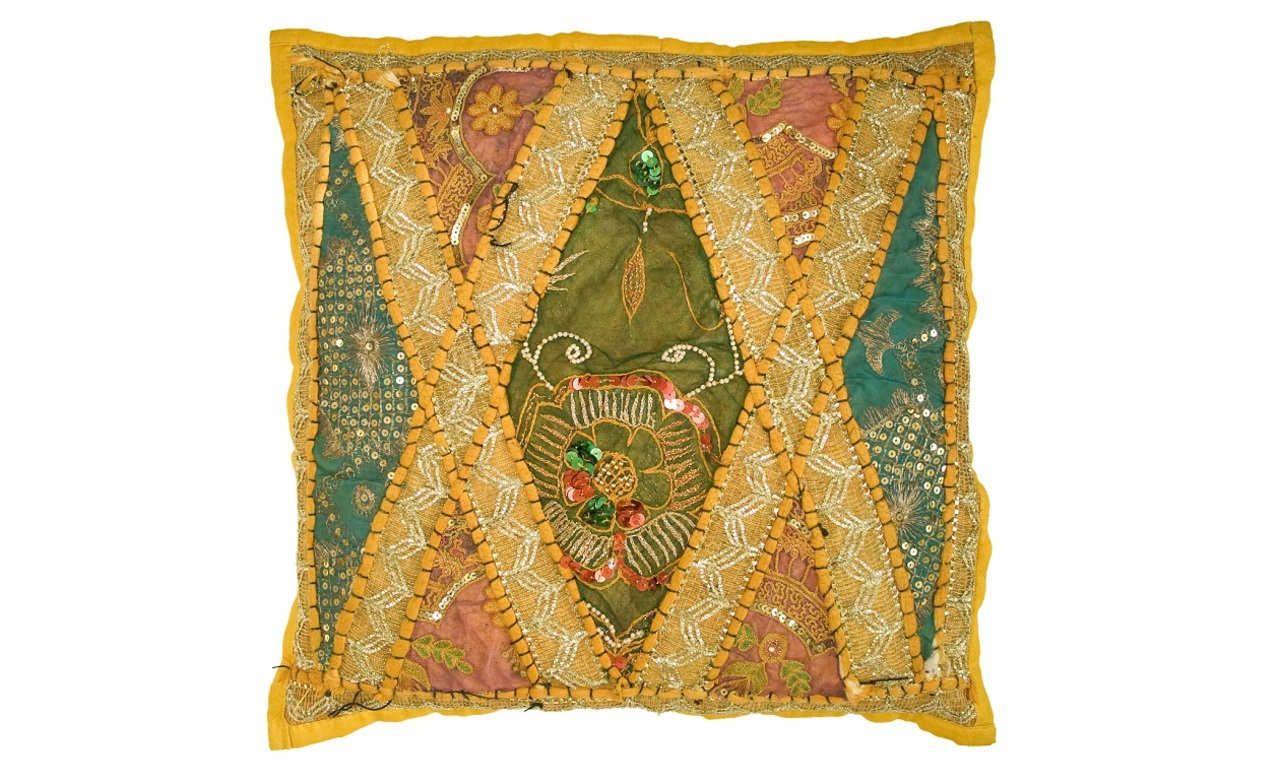 C mo hacer cojines decorativos al estilo hind india and - Como hacer cojines decorativos ...