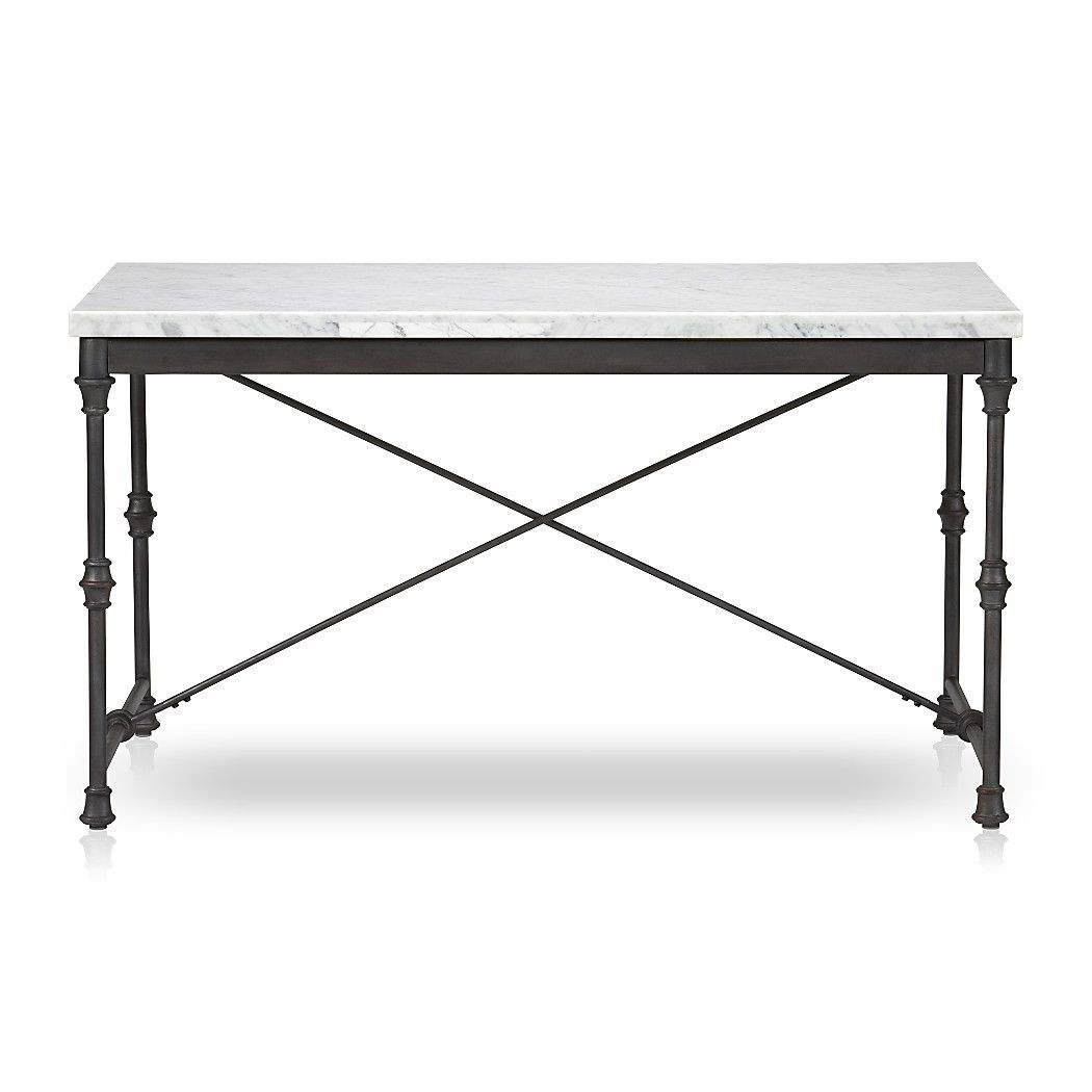Shop French Kitchen Table Prized For Its Natural Greywhite Veining - French kitchen table with marble top