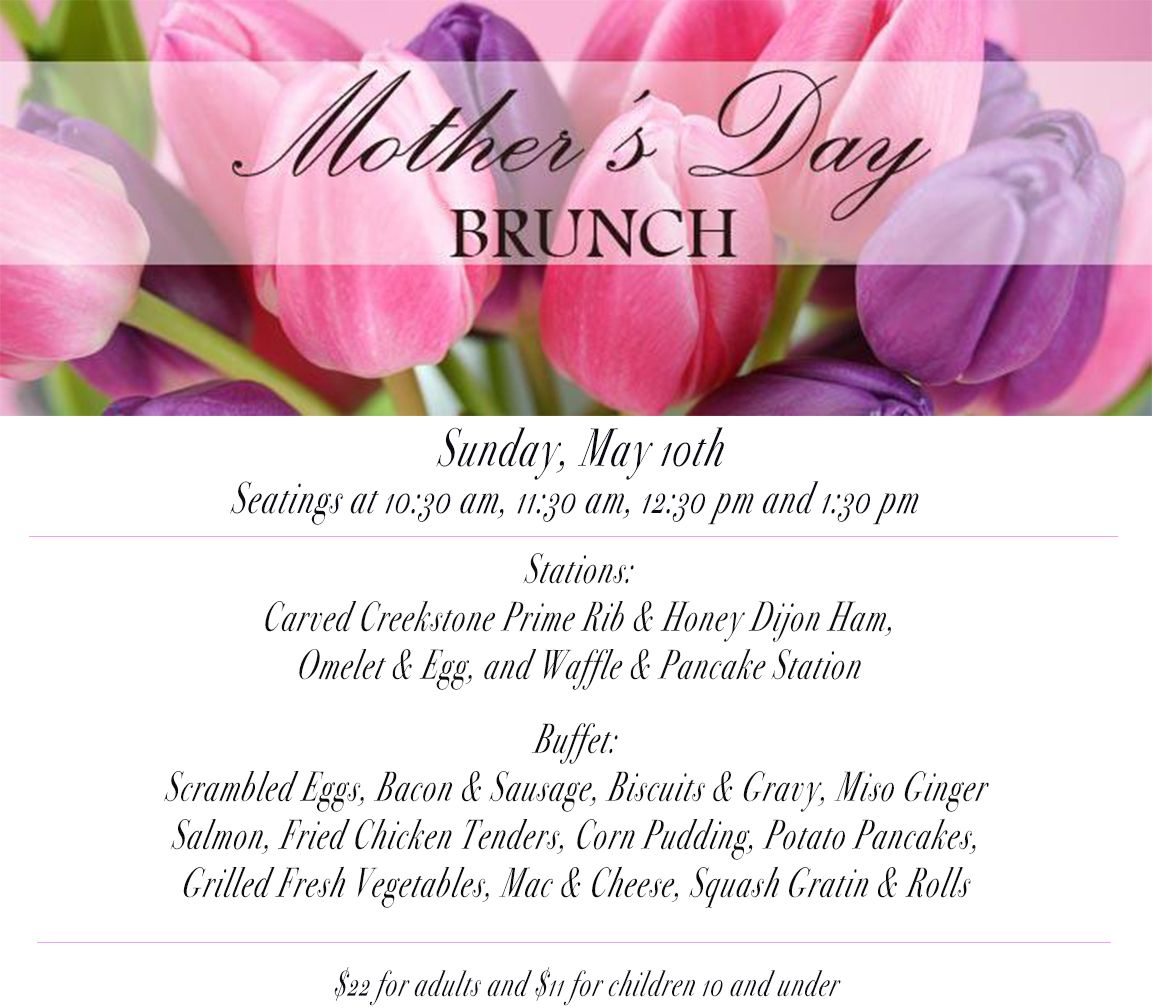 Make Mom's day and spoil her with a brunch she will never forget!! Call today to make your reservations! 502-420-1766. #HurstbourneCountryClub #MothersDay