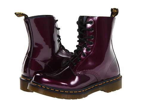 Dr. Martens Pascal 8-Eye Boot W Copper Spectra Patent - Zappos.com Free Shipping BOTH Ways