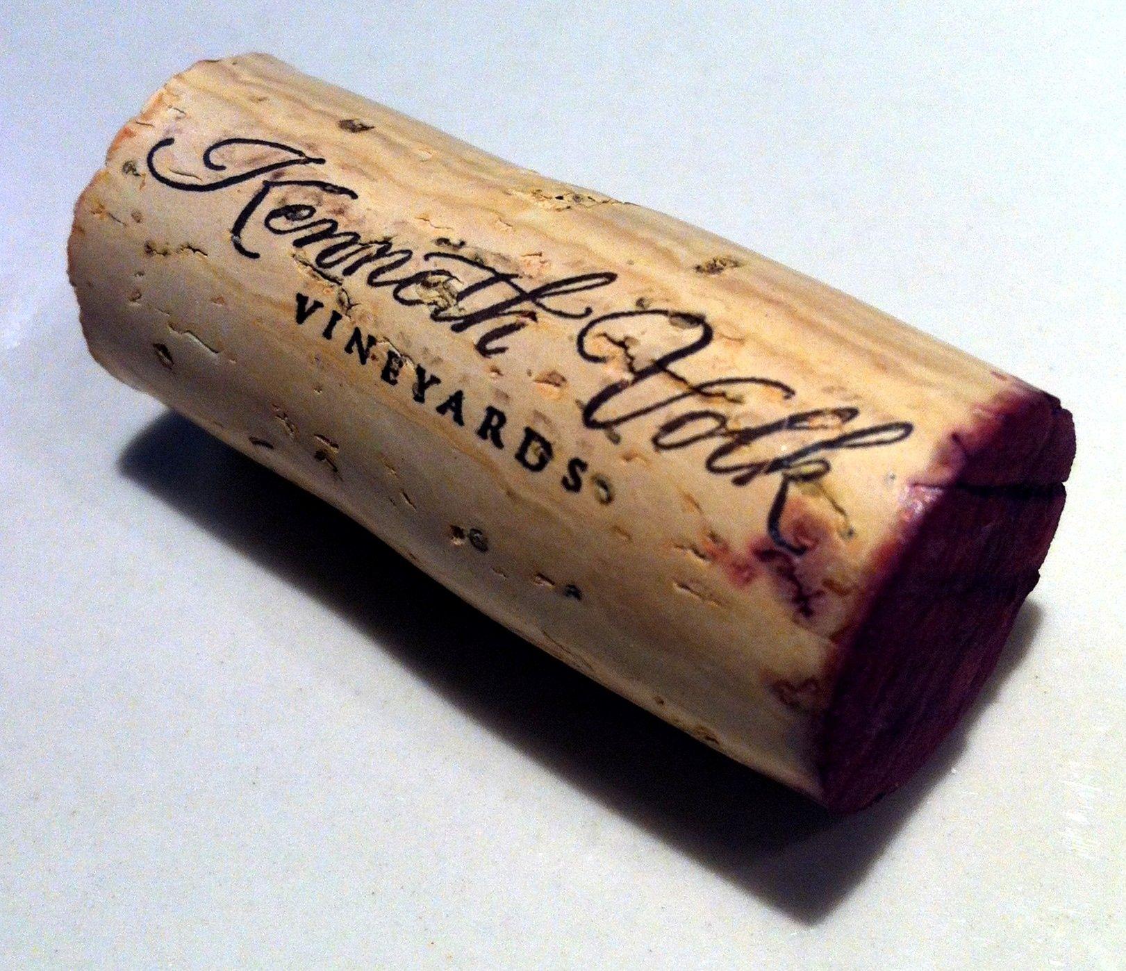 Wine Review: 2008 Kenneth Volk Enz Vineyard Mourvedre   pop & pour