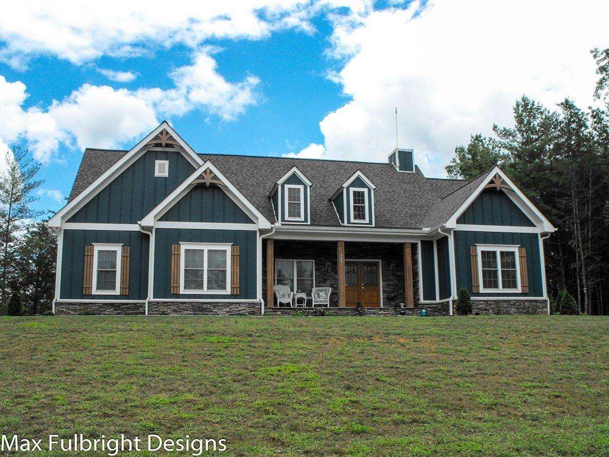 One Or Two Story Craftsman House Plan Country Craftsman House Plan Craftsman House Plans Craftsman House Country House Plans