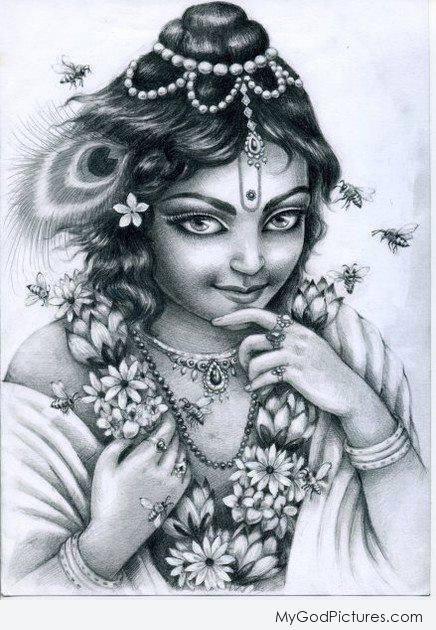 beautiful lord jagannath sketch