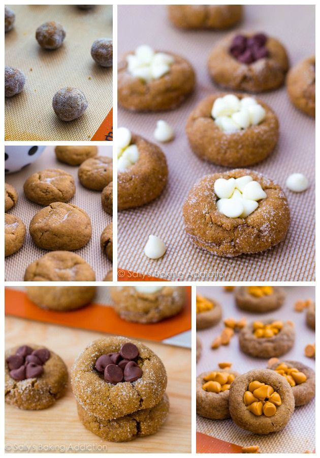 Soft Gingersnap Molasses Cookies- 4 ways