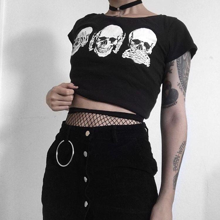 Pin by Ruby on fashion goals   Diy goth clothes, Punk ...